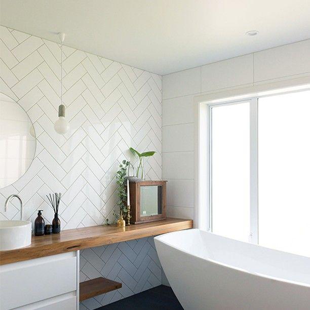 Flooring Xtra Nz On Instagram Tiles Coming Soon To Flooring Xtra Floo Bathroom Decor Apartment Simple Bathroom Renovation Chevron Bathroom