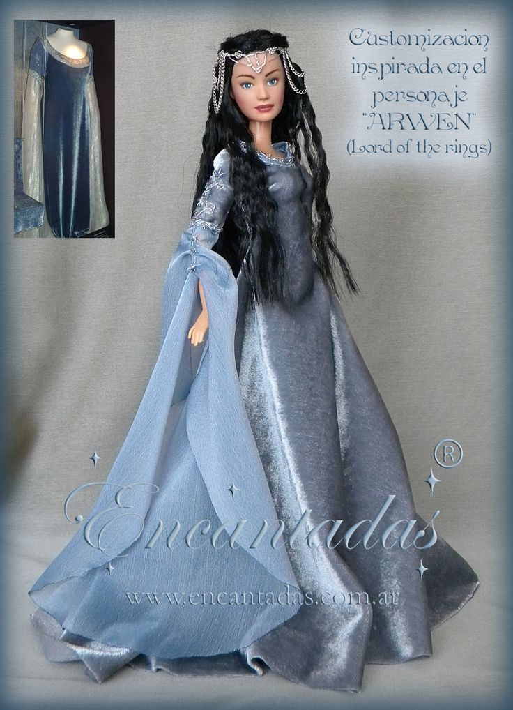 CUSTOMIZED DOLL, inspired by ARWEN (Lord of Rings) by Encantadas.deviantart.com on @deviantART