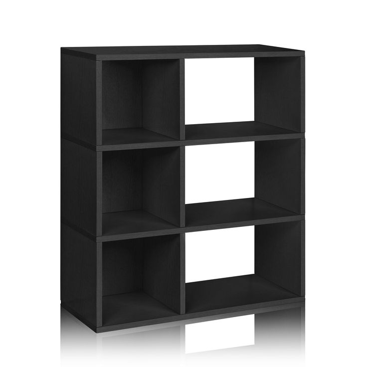 Way Basics Sutton Low Wide Bookcase