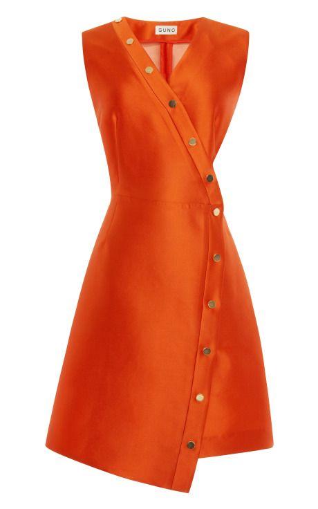 designer: SUNO details here:Suno Cutout Snap Dress
