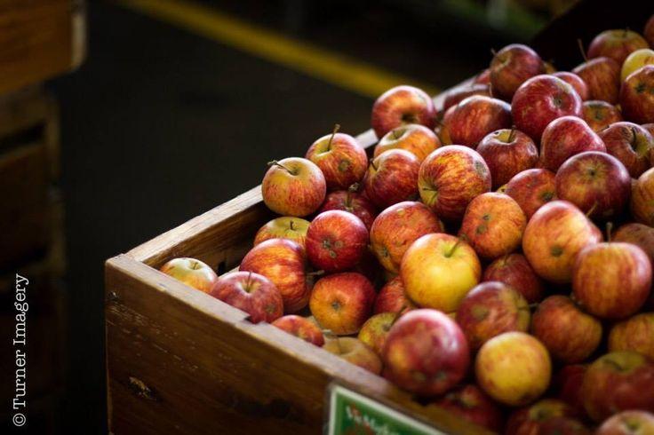 Organic apples @qv market