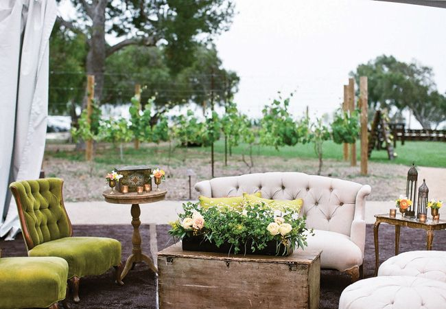 15 Lounge Ideas for 15 Wedding Styles - The Knot Blog