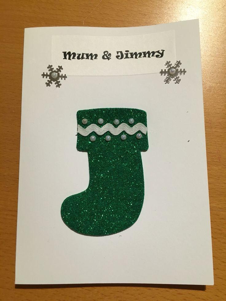 Handmade Christmas card for my parents (2015)
