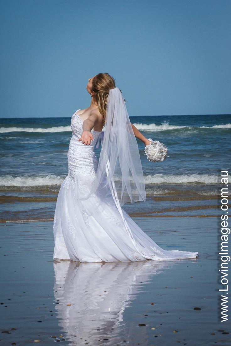 """Crystal having a joyful moment on """"Diggers Beach"""""""