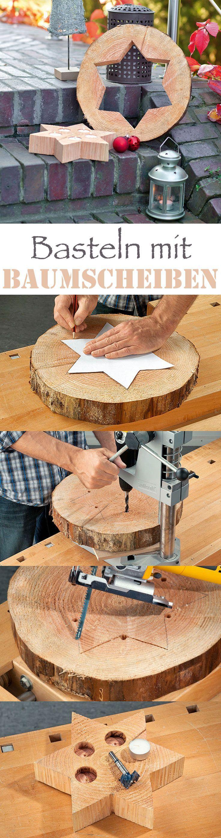 Die 25+ Besten Ideen Zu Baumstamm Deko Auf Pinterest | Holzdeko ... Gartendeko Selber Machen Gnom Fee Tuer Baum Gestaltung
