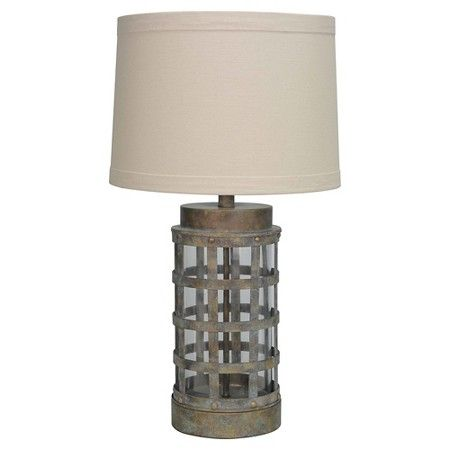 Forge Table Lamp Rust - Beekman 1802 FarmHouse™ : Target 25H x 14W $60