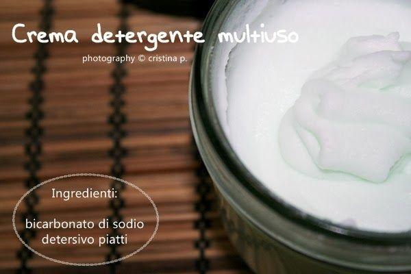 La zucca capricciosa: Crema detergente multiuso, per la casa un Cif tutto green