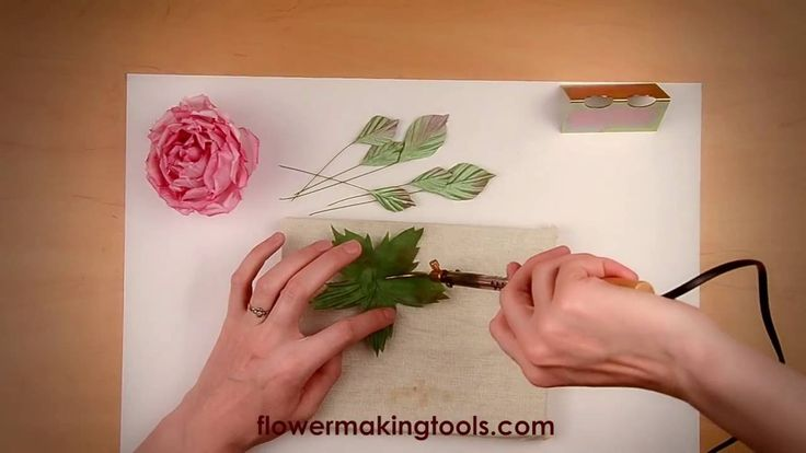 """DIY How to create fabric flowers: Lesson#2 """"China Rose"""""""