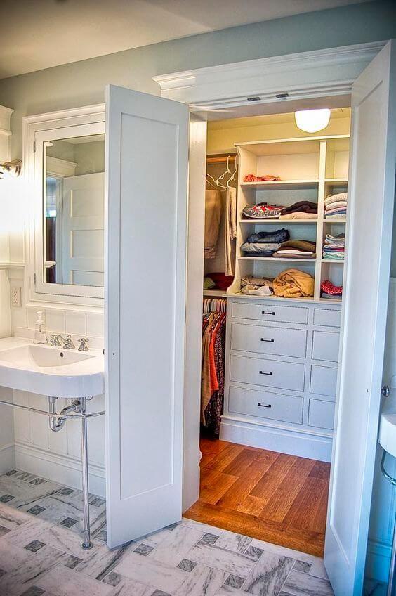 27 Best Innovative Bathroom Ideas Images On Pinterest Dresser In Closet Master Closet And