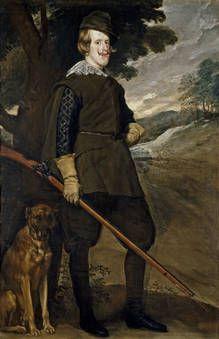 Velázquez, Diego Rodríguez de Silva y (Spanish)  Felipe IV in Hunting Garb