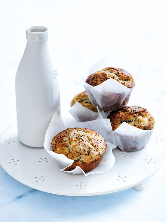 Pear Yoghurt And Chia Muffins | Donna Hay