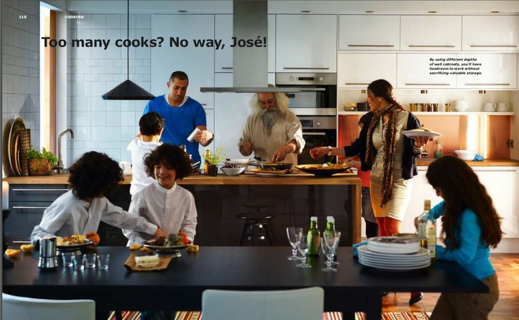 Ikea - Two line kitchen