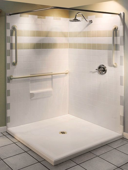 Best 25 handicap shower stalls ideas on pinterest ada - Handicap requirements for bathrooms ...