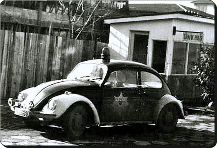 Trafik polisi, 1970ler.