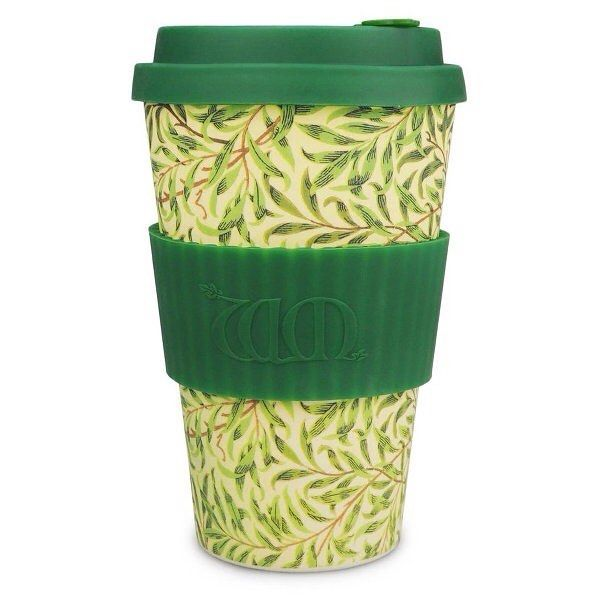 New limited edition eCoffee Cup - William Morris Willow #ecoffee #ecoffeecup #coffee #travelmug #sustainable #reusable #williammorris #green