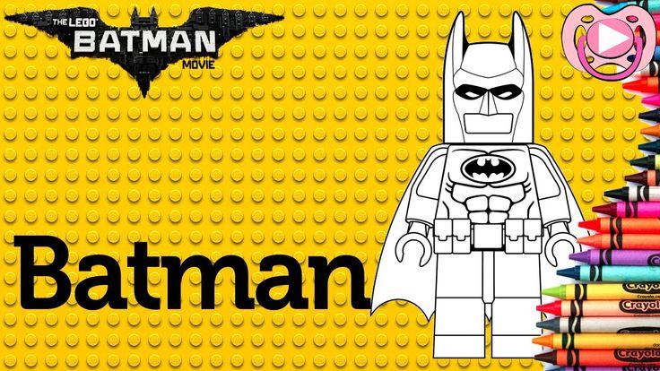 Lego Batman 2017 🦇 Colorir o Batman