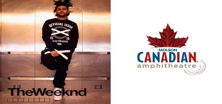 $80 for Lawn Tickets for The Weeknd on September 21, 2014 at the Molson Amphitheatre