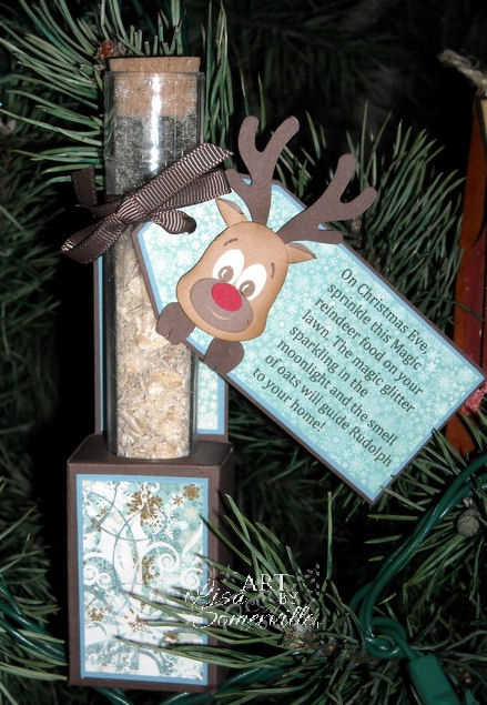 Magic Reindeer Food Test Tube Holder