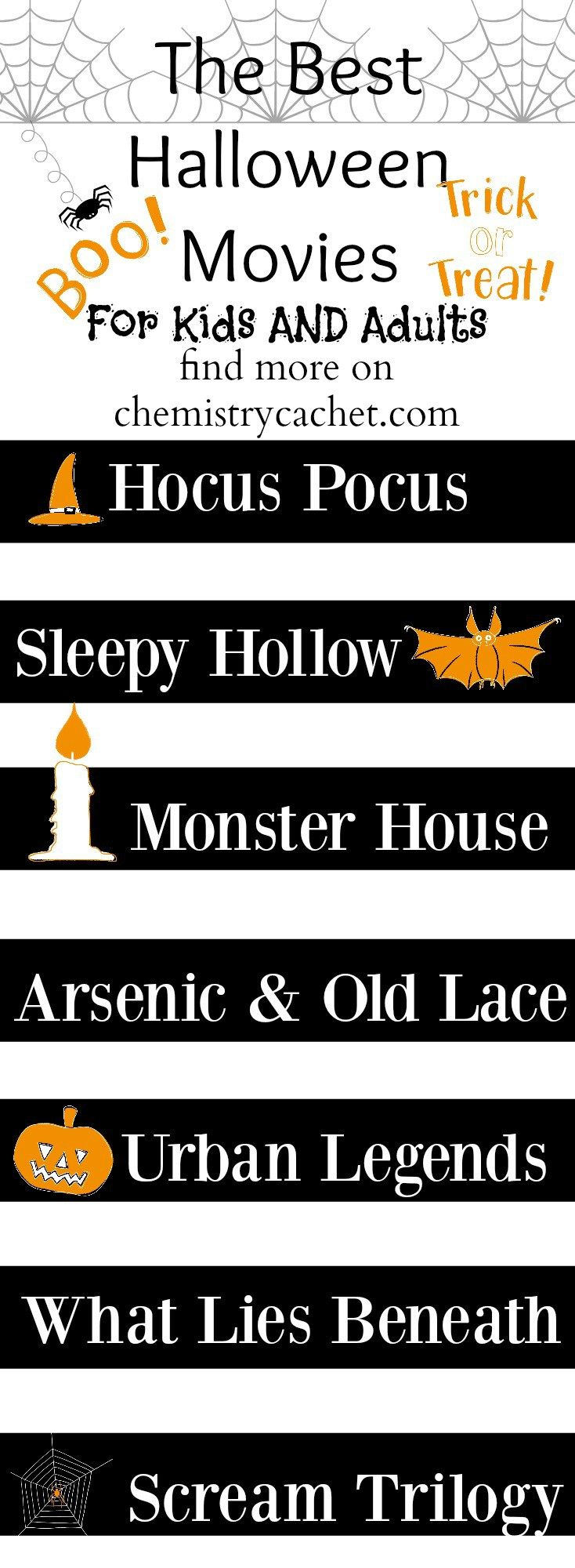 The best Halloween movies for kids and adults. Halloween movies for the family…