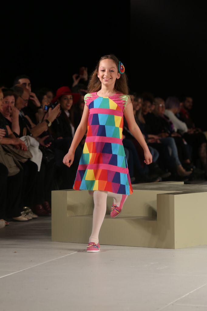 Vestido Arco Iris - Diseño Exclusivo Dilu — Dilu