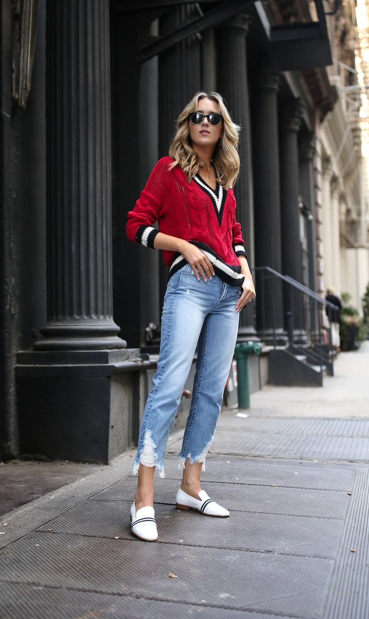 top-spring-summer-trends-athletic-sportswear-varsity-sweater-v-neck-stripes-rag-bone-ripped-jeans-white-strip-loafers-nyc-style-fashion-blog-s-3