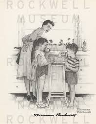 norman rockwell drawings - Pesquisa Google
