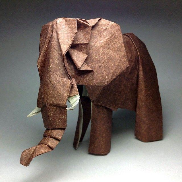 Origami elephant                                                       …