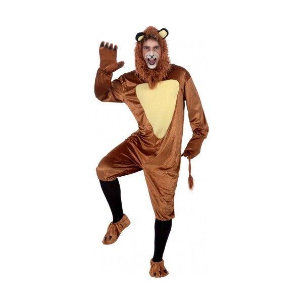 Disfraz de León Adulto. Elegante y completo disfraz de león, para carnavales, festivales de colegios, representaciones del mago de oz junto ...