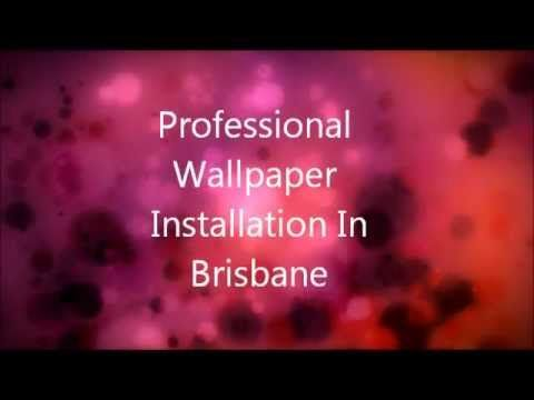 Wow Wallpaper Hanging are professional wallpaper installers in Brisbane, Qld. http://www.youtube.com/watch?v=0W-IEVz6lWE