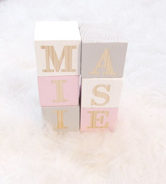 Our natural pine name blocks are the perfect addition to any room and make a fantastic gift for new babies, older kids and even the young at heart!