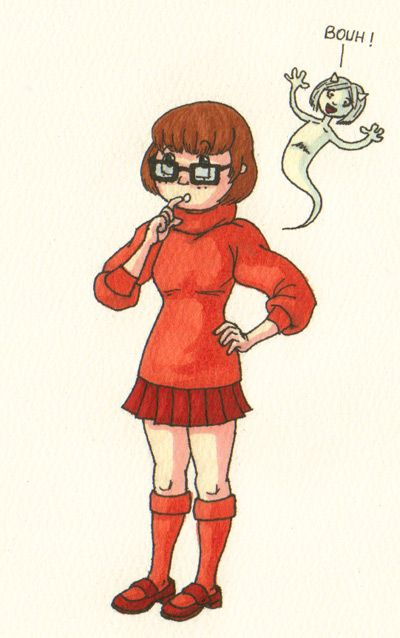 "Le Cosplay Game : Véra Dinkley dans ""Scooby-Doo"""