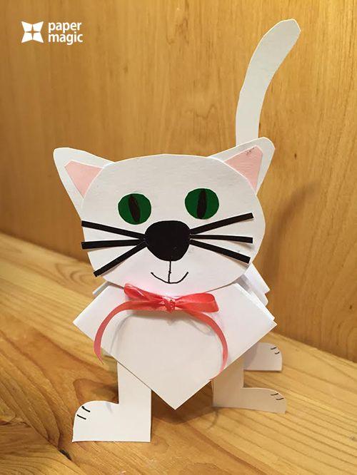 kočička z harmoniky