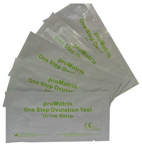 ProMatris 10 x Altamente Sensible 20mIU Tiras de Prueba de ovulación/fertilidad + 2 x Prueba de embarazo / 10mIU / ml Altamente Sensible