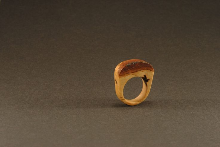 Birch ring with bark, natural wooden ring, original natural design by WowodesignShop on Etsy https://www.etsy.com/listing/476559100/birch-ring-with-bark-natural-wooden-ring