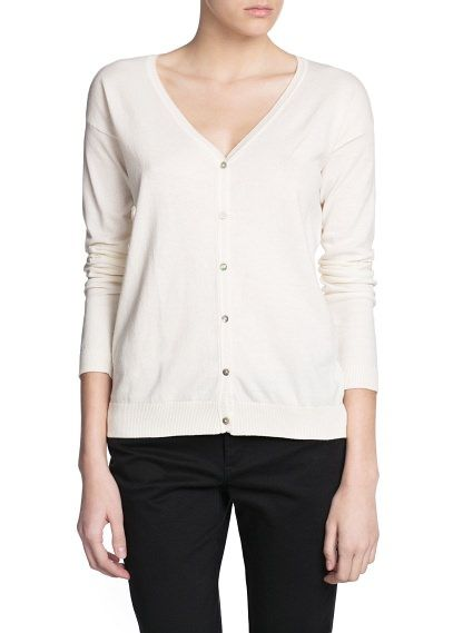 Essential v-neck cardigan