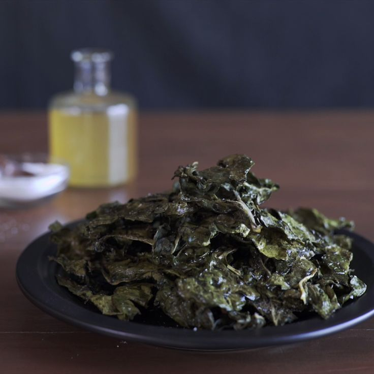 Enjoy the crunch without the guilt with salt and vinegar swiss chard chips.