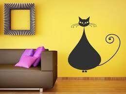 Výsledek obrázku pro samolepka na zeď kočka