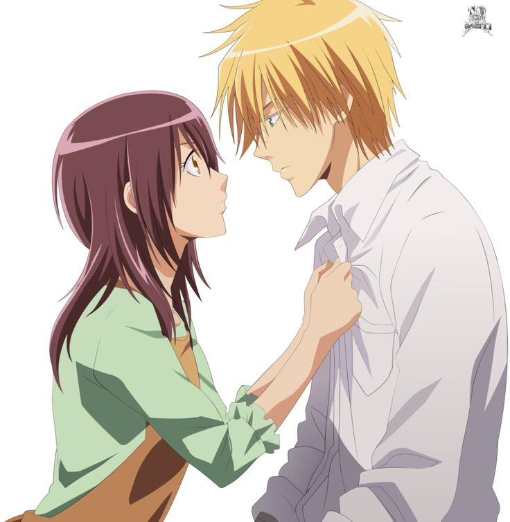 Image result for kaichou wa maid sama usui and misaki wallpaper