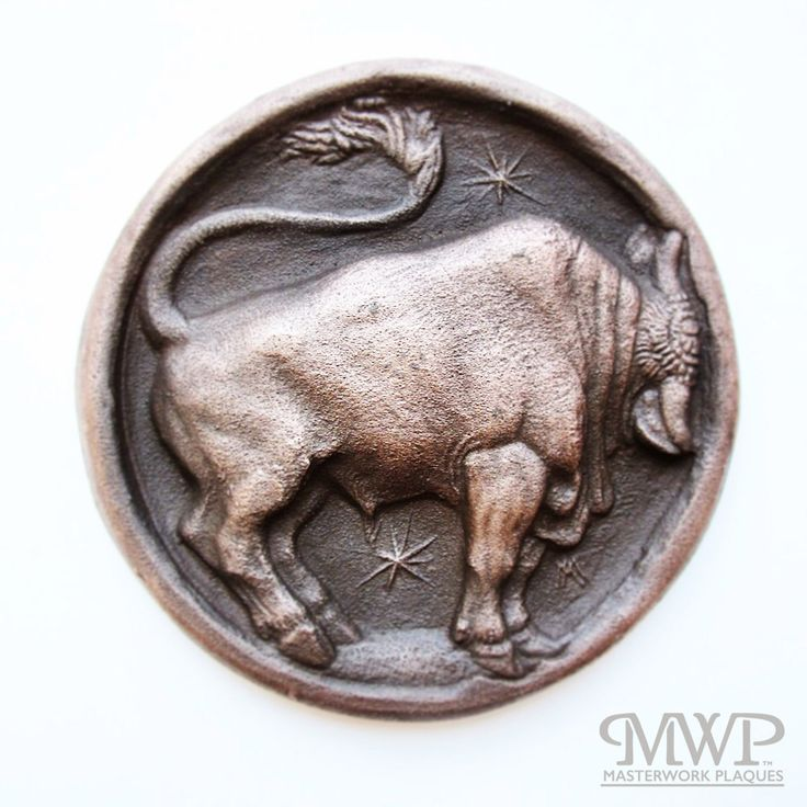 taurus | contact us at masterworkplaques@gmail.com for all purchasing inquiries.
