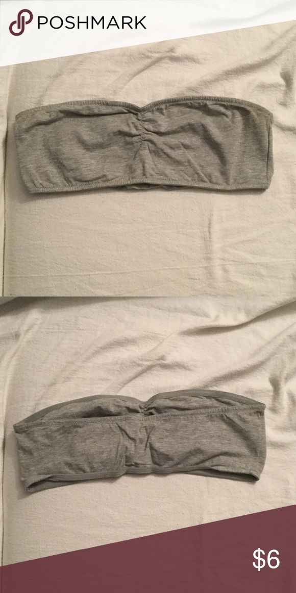 Grey bandeau top Light grey bandeau top Forever 21 Intimates & Sleepwear Bandeaus