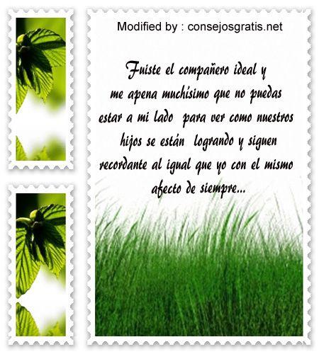 buscar recordatorios de aniversario de fallecimiento de un familiar, mensajes de aniversario de fallecimiento: http://www.consejosgratis.net/mensajes-a-una-madre-fallecida/