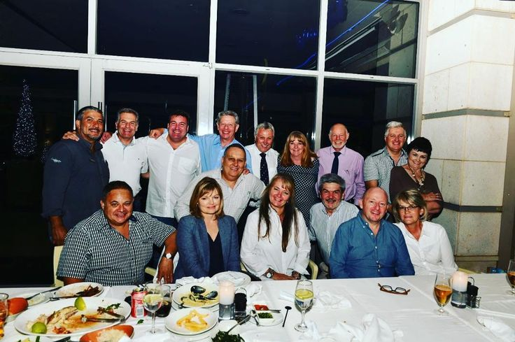 Amazing Marist Brothers Alumni Committee dinner. PS I was the youngest in the group