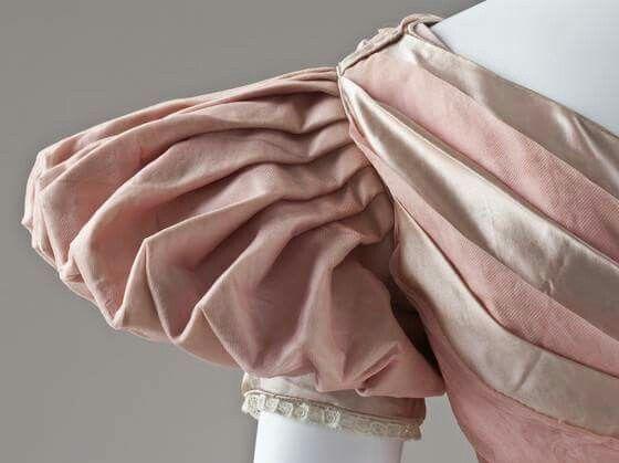 Evening dress, England, ca. 1830 LACMA