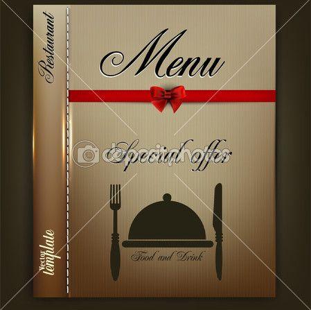 Дизайн меню для ресторана шаблоны