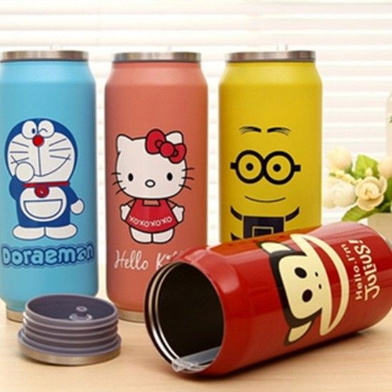 1PC  260ml 460ml  Minions Mug Stainless Steel Bottle Vacuum Flasks Thermal bottle Garrafa Termica Infantil Thermocup J3071 #>=#>=#>=#>=#> Click on the pin to check out discount price, color, size, shipping, etc. Save and like it!