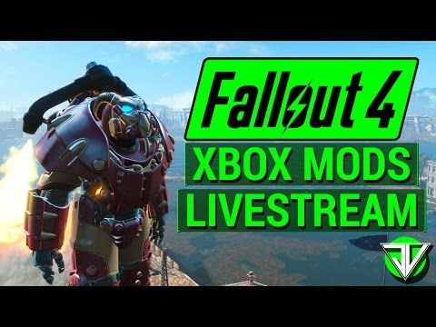 FALLOUT 4: Xbox One CONSOLE MODS Stream! (Weapons, Quests, Armor, and More!) - Best sound on Amazon: http://www.amazon.com/dp/B015MQEF2K -  http://gaming.tronnixx.com/uncategorized/fallout-4-xbox-one-console-mods-stream-weapons-quests-armor-and-more/