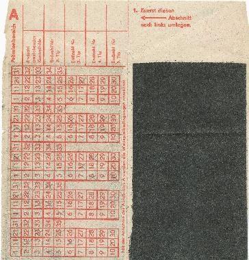 DDR Museum - Museum: Objektdatenbank - Tele-Lotto-Schein    Copyright: DDR Museum, Berlin. Eine kommerzielle Nutzung des Bildes ist nicht erlaubt, but feel free to repin it!