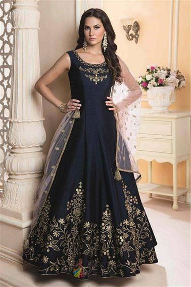 58c1c870d1 Evening partywear embroidered work on Anarkali gown. 🛍 Wedding wear gowns  ! 💃 #bollywood #fashion #trend #ootd #partywear #ukbridal #dress #shopping  ...