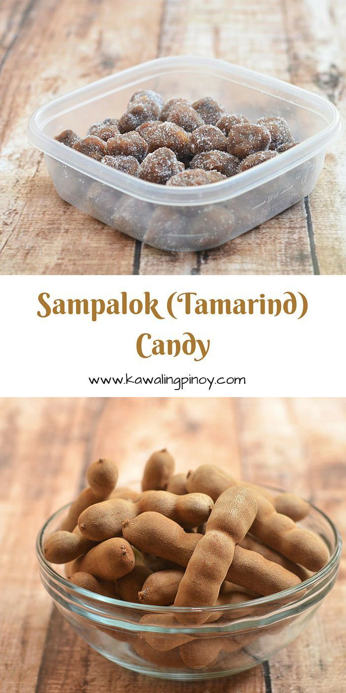 Made with tamarind pulp and sugar, this sampalok candy is the perfect harmony of sweet, sour and salty!