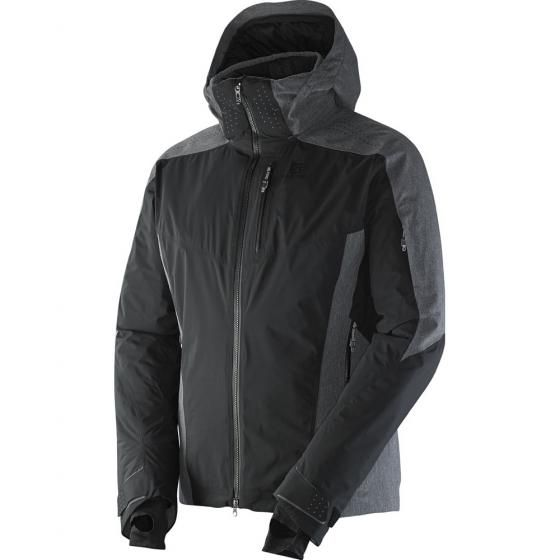 Manteau de ski isolé Salomon Whitemount Mix GTX Motion Fit pour Hommes